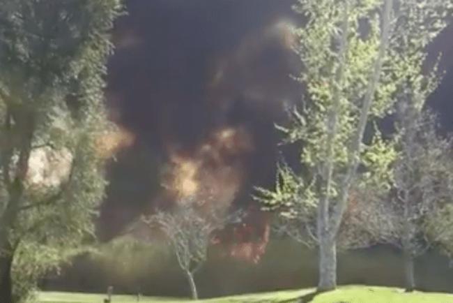 PGA Tour Champions, Incendio, Hong Classic, Videos de Golf,