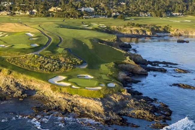 Pebble Beach Golf Links. Foto: PBGL