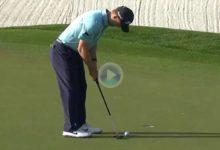 El Golf es duro… Knox necesitó de ¡5 putts! en el 1 del Players, 4 de ellos desde poco más de un metro