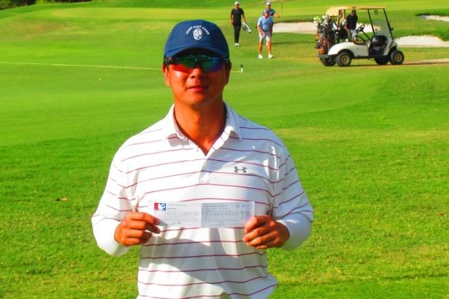 Sunny Kim, Minor Golf League Tour, 59,