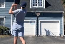 ¡Triplazo contra tablero… con un rollo de papel higiénico como bola! Todo un desafío en Trick Shots