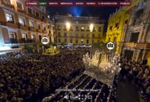 Turismo Costa del Sol difundirá la Semana Santa de Málaga de forma virtual con su herramienta 360º