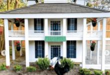 Este golfista recreó la Casa Club de Augusta para meterla en el gallinero… Con ustedes, Eggusta