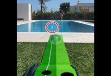 ¿Alguien ha pedido un Trick Shot pasado por agua? Francesco Laporta se lo lleva a su domicilio
