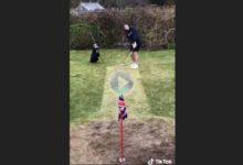 Cómo construir un pequeño hoyo de golf en el jardín de casa de forma muy sencilla y poco tiempo