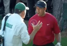 Se cumplen 15 años de uno de los mejores golpes de la historia del Masters: el chip de Tiger Woods