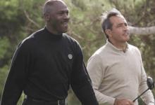 El día que Michael Jordan le ganó a Seve una apuesta de 45 euros jugando al Golf en Valencia