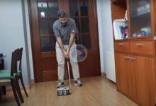 Consejos de GOLF desde casa: Mejora el inicio del swing con la ayuda de una simple caja de zapatos