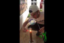 El reto más difícil: Vicente Cordero apaga una vela con una carta de la baraja utilizando un palo de golf