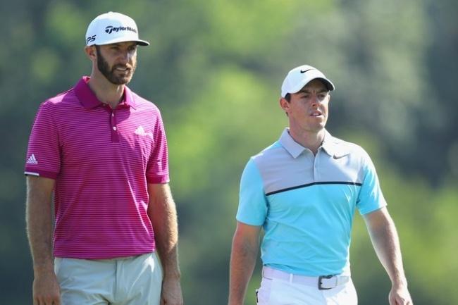 Dustin Johnson, Rory McIlroy, PGA Tour,