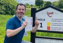 El sueño de cualquier golfista: Hoyo en Uno con el 1er golpe después de 7 semanas de confinamiento