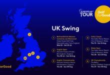 """El European Tour se enfrenta al problema logístico del """"UK Swings"""" en su flamante retorno de julio"""