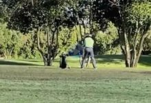 Si creía que lo había visto todo en el juego lento estaba equivocado ¡Más de 1′ para golpear la bola!