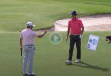 El Golf, en ocasiones, no es tan duro. Vea los golpes con más suerte del ET en lo que llevamos de año