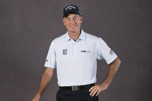 Jim Furyk posa para un retrato tras el anuncio de su Premio Payne Stewart en 2016. Foto Ryan Young-PGA Tour)