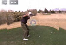 Vea el particular pero efectivo swing del 17 veces ganador del PGA, Jim Furyk, con el paso del tiempo