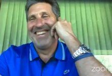 José María Olazábal en la AEGG: «El Golf es salud y felicidad y nos ayuda a ser mejores personas»
