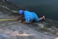 El tonto de la Semana: Este jugador se jugó la vida por recuperar una bola que se hallaba en el lago