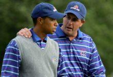 """Lefty explica cómo se fraguó su amistad con Tiger: """"Tras verle trabajar en la Ryder, todo cambió"""""""