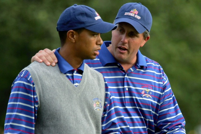 Phil Mickelson, Tiger Woods, Ryder Cup,