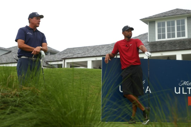 Phil Mickelson, Tiger Woods, The Match, Medalist,