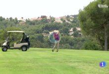 Algo está cambiando. El Telediario de TVE se hace eco de la reapertura de campos de golf en España