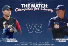 The Match: Champions for Charity se disputará finalmente el próximo 24 de mayo en el Medalist