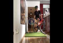 Golf, bicicleta y equilibrio, mucho equilibrio, en este brutal reto que nos presenta Vicente Cordero
