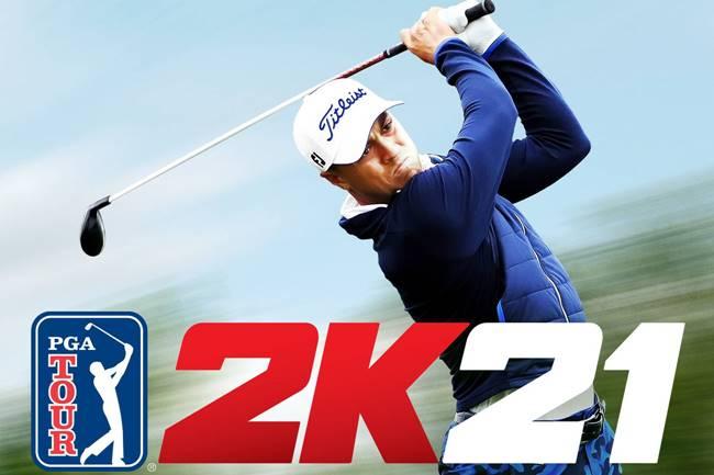 Videojuego PGA Tour portada Justin Thomas