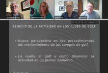 El sector del Golf hace piña ante la más que previsible apertura de los campos en España