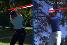 Compare el swing a cámara lenta de DeChambeau de 2016 con el de 2020 después de ganar 16 kilos