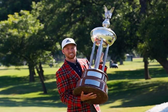 Daniel Berger campeón en el CSC. Foto PGA Tour