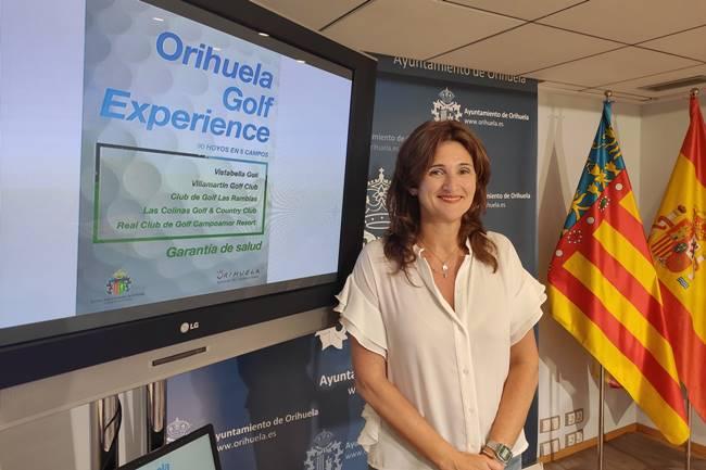 Foto Campaña Turismo Golf Mariola Rocamora