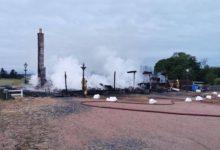 Un gran incendio destruye por completo la Casa Club de Charleton GC, popular campo escocés