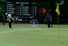 Jon Rahm aprovechó su primer Par 5 en el RBC Heritage para anotar el primer birdie de la semana