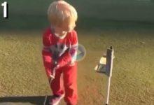 Este joven golfista maneja como nadie la frustración… ¡y ni siquiera perdió la sonrisa al final!