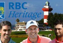 Jon, Sergio y Rafa, a por el RBC Heritage bajo la luz del icónico faro rojo y blanco de Harbour Town