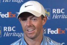 """Rory, crítico con sus compañeros por no regresar al PGA Tour: """"Si te importa tu carrera debes venir"""""""