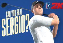 Sergio formará parte del plantel del PGA Tour 2K21 que saldrá a la venta el próximo 21 de agosto