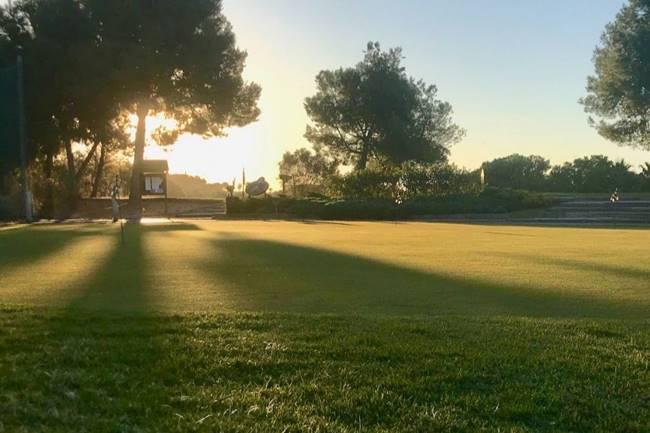 Bonalba Golf putting green