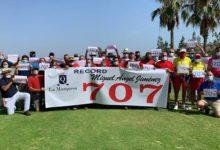 La Marquesa felicita, y rinde homenaje, a Miguel Ángel Jiménez con motivo de su torneo 707 en el ET