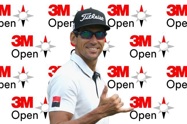 Rafa Cabrera Bello 3M Open Logo