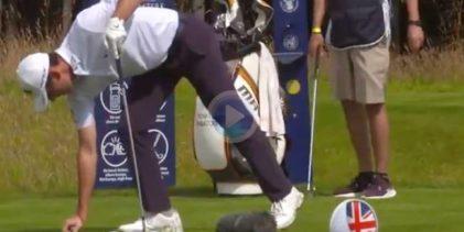 Paratore es uno de los golfistas más rápidos en jugar, y el ET lo demuestra poniéndolo bajo el reloj
