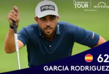 Sebas García logra la mejor vuelta de su carrera en el European Tour para liderar en solitario el Hero