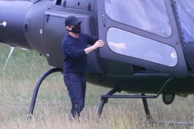 Tom-Cruise-helicoptero. Foto @TomsCruiser