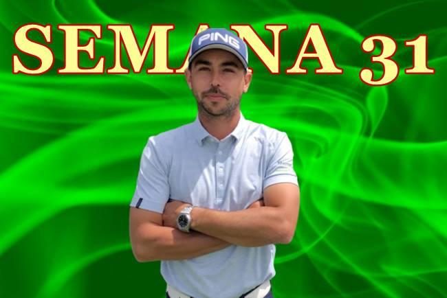 El Top 10 de Sebastián García en el English Open es el mejor resultado de la Armada en la Semana 31