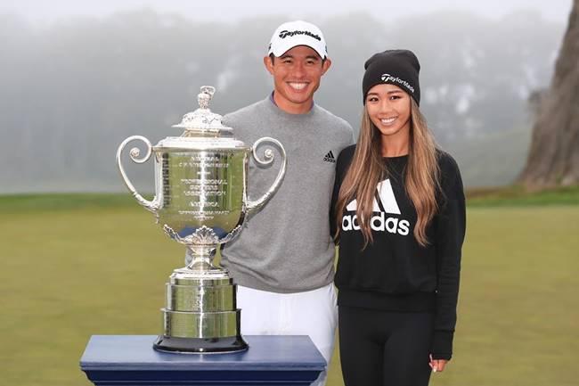 Conozca a Katherine Zhu, novia de Collin Morikawa desde sus días de universidad y jugadora de golf