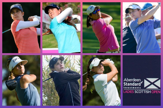 Españolas en el Ladies Scottish Open 2020