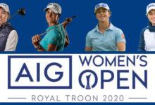 Carlota, Azahara, Nuria y Luna, póker de lujo en el Women's British Open, primer Grande en este 2020