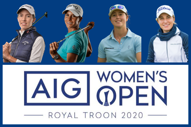 Españolas en el Women's British Open